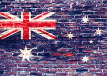 Flaga Nowej Zelandii - Graffiti