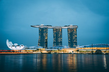 Singapore Marina Bay Sands At ...