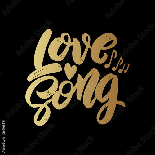 Obraz na plátně  Love song