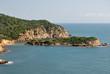 La costa di Chia e l'isola di Su Cardolinu