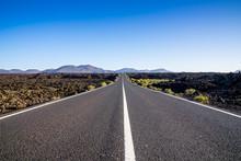 Spain, Lanzarote, Country Road...
