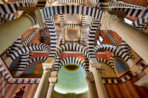 Fotografia Rocchetta Mattei, Bologna, Italy. The chapel