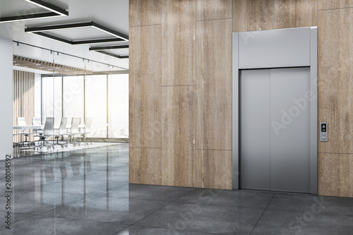 Modern office lobby Wallpaper Mural
