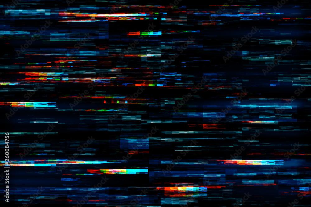 Fototapeta Creative glitch texture