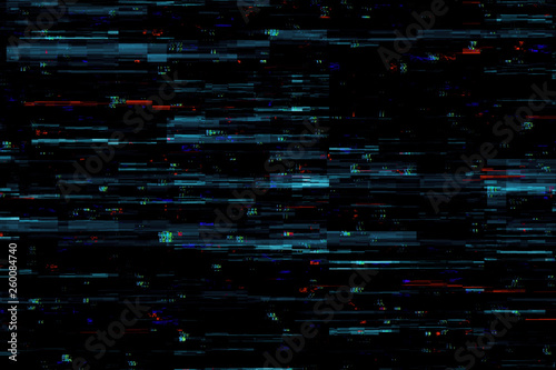 Creative glitch backdrop - 260084740