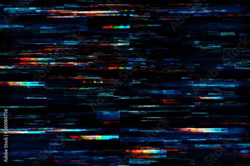Obraz Creative glitch texture - fototapety do salonu