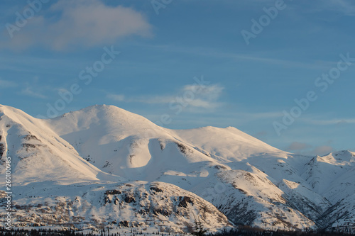 Beautiful Mountain Landscapes from the Kenai Peninsula of Alaska