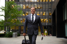 Senior Businessman In New York