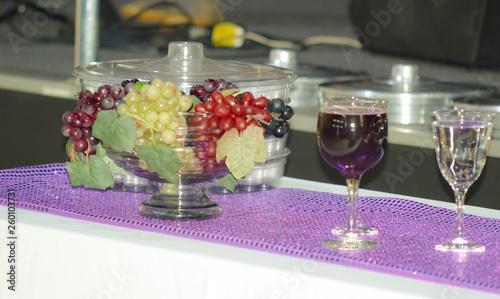 Fotografie, Obraz  santa ceia igreja uva mesa comunhão