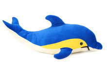 Toy Dolphin Isolated On A White Background