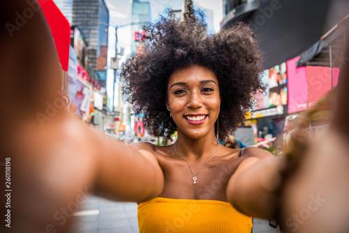 Foto  Beautiful woman in New York