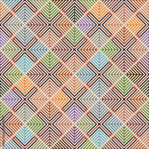 Photo Palestinian embroidery pattern  110
