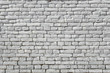 Texture of the wall of brick, painted white