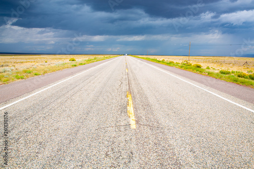 Highway 285 in New Mexico, USA - Buy this stock photo and