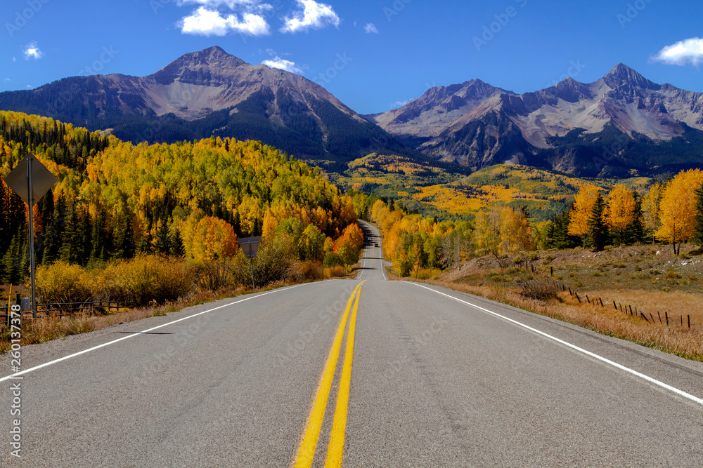 Fototapety, obrazy: Autumn Color in San Juan and Rocky Mountains of Colorado