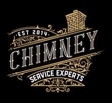 Vintage Chimney Logo. Vector Layered