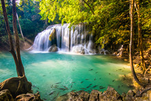 Erawan Waterfall In National P...