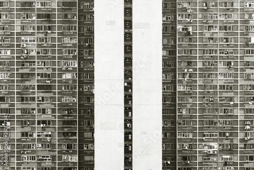 Fotografie, Tablou Public Estate in Hong Kong