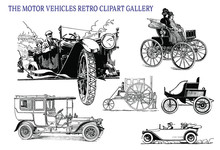 The Motor Vehicles Vintage ClipArt Gallery