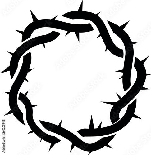 Fotografía crown of thorns, easter, religious symbol