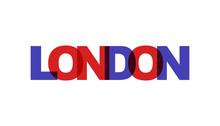 London, Phrase Overlap Color N...