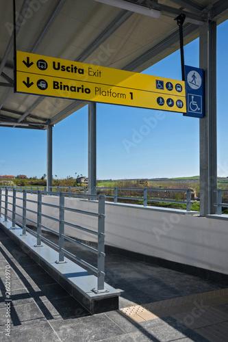 Fotografía  stazione ferroviaria