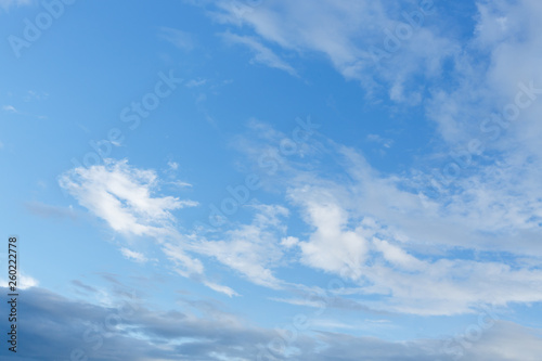 cloud on blue sky Wallpaper Mural
