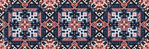 Foto auf Gartenposter Künstlich Geometric Vector Seamless Pattern