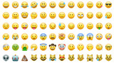 Emoji set icons bor apps