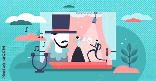 Fotografia Theater vector illustration