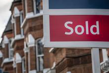 Estate Agent 'Sold' Sign- UK