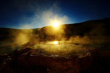 Hot Thermal Springs Steam Pairs