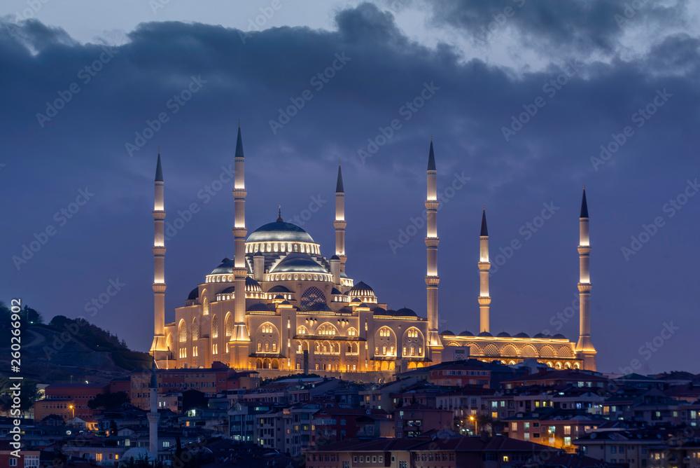Fototapety, obrazy: Great Camlica Mosque at Camlica