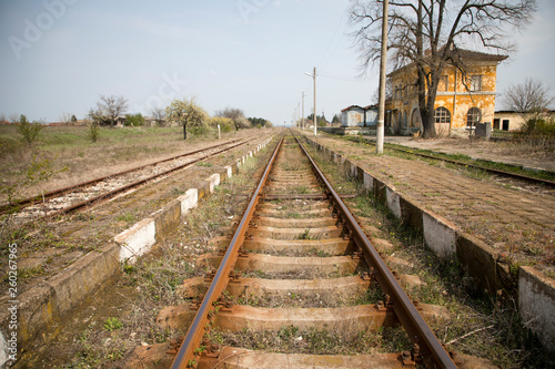 Fotografía  Abandoned railway station
