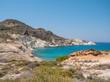 Beach in Milos Island