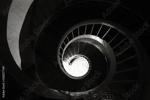 spiral staircase architectural element