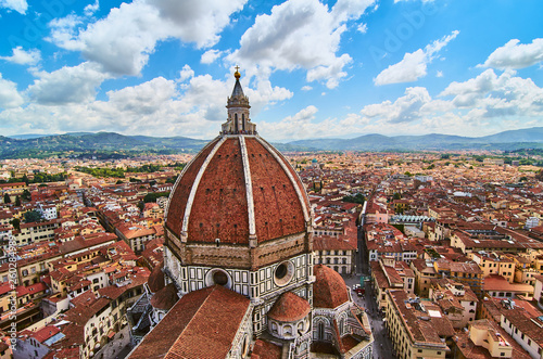 Fotografie, Obraz  Duomo Cathedral Santa Maria del Fiore Church Florence