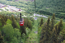 Ropeway In Rjukan, Norway