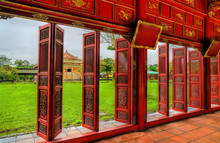 Pavilion At The Forbidden City...