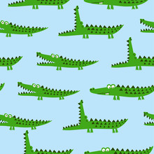 Crocodile Pattern Design With ...
