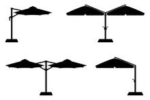 Large Sun Umbrella For Bars An...