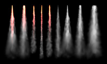 Rockets Tracks. Space Rocket L...