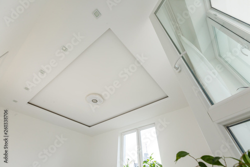 Photo living room ceiling halogen spots