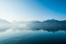 Lake Of Lucerne. Weggis. Switzerland