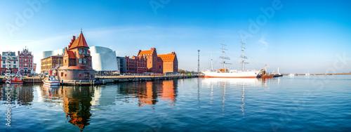 Hafen von Stralsund, Deutschland