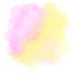 Pink and yellow watercolor background. Blended abstract aquarelle. Vector colorful splash on white backdrop. Beautiful texture for your graphic design.