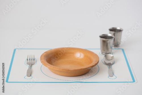 Photo  Child Size Dining Set