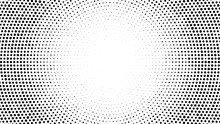 Halftone Dotted Background. Ha...