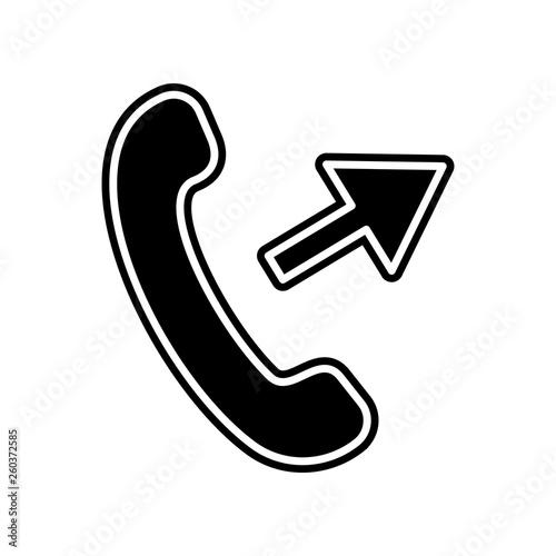 Valokuva  outgoing call icon