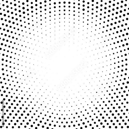 Halftone abstract dotted backgrounds for your design. Halftone effect vector pattern. Circle dots isolated on the white background.Circular gradient texture. Fototapete